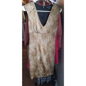 Marciano leopard print dress